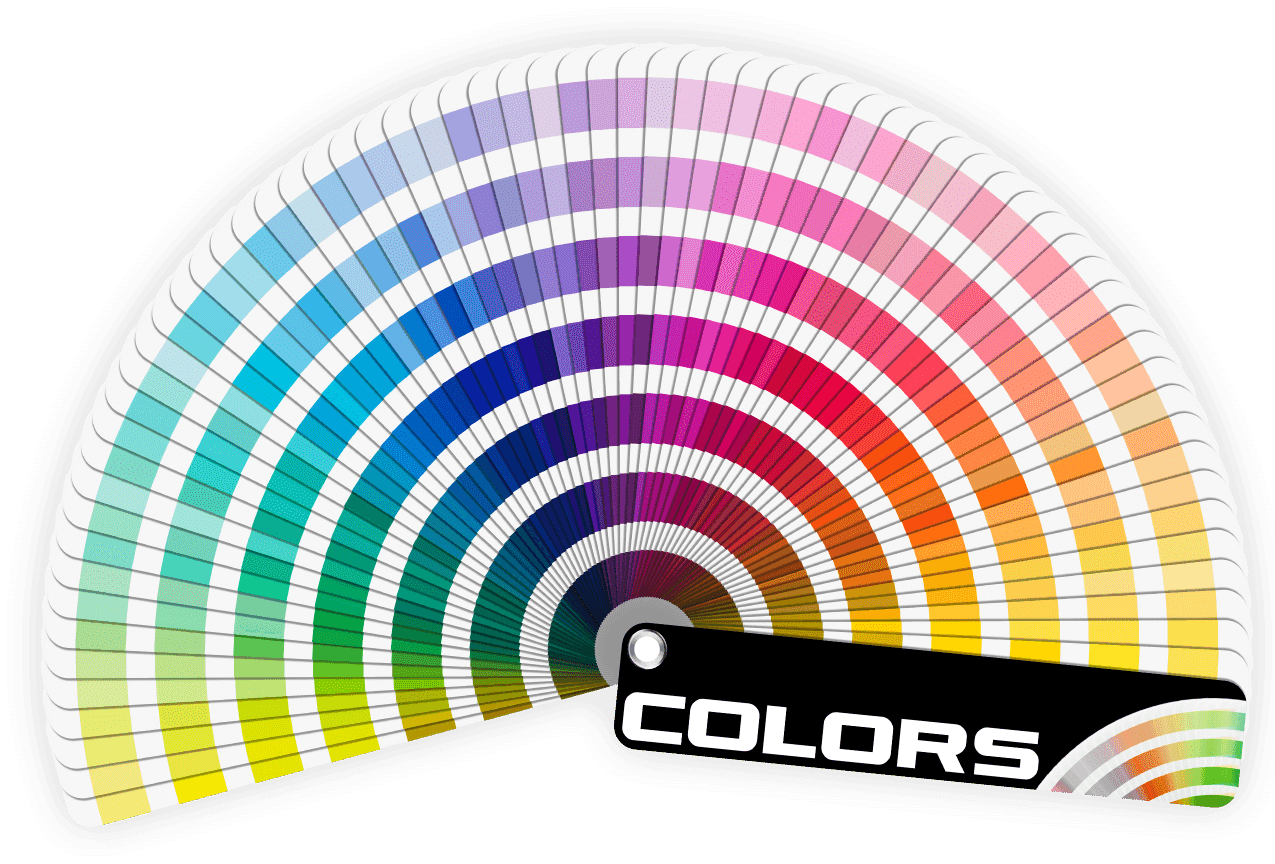color-wheel Available Colors